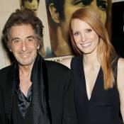 Jessica Chastain : Si charmante et sensuelle qu'elle fait fondre Al Pacino