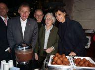Inès de la Fressange et Patrick Poivre d'Arvor : Complices gourmands