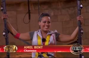 Fort Boyard Noël : Amel Bent, suspendue dans la vide, n'a pas froid aux yeux