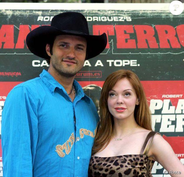 Robert Rodriguez et Rose McGowan