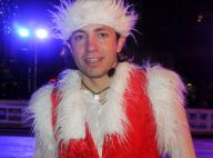Philippe Candeloro : Père Noël sur glace devant sa femme Olivia