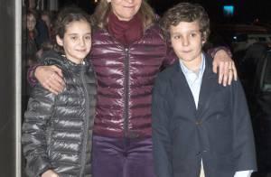 Elena d'Espagne : Ses enfants Felipe et Victoria, élégants, fêtent ses 49 ans