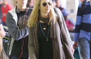 Lisa Kudrow : Incognito avec son fils et son mari
