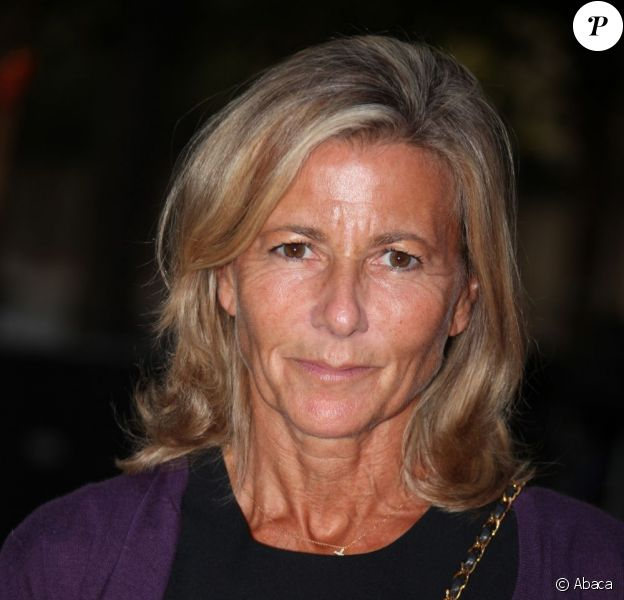 Claire Chazal à Paris, le 28 août 2012.