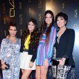 Kourtney Kardashian, Kylie Jenner, Kendall Jenner et Kris Jenner à New York le 24 avril 2012.