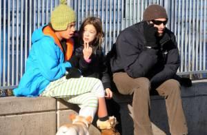 Hugh Jackman : Un père attentionné avec ses enfants, le jour de Noël !