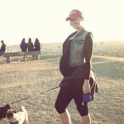 Amber Rose, enceinte : Promenade au grand air avant l'accouchement