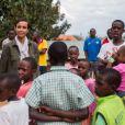 Sonia Rolland était en voyage humanitaire au Rwanda, son pays d'origine, fin novembre - début décembre 2012 pour le compte de son association Maïsha Africa.