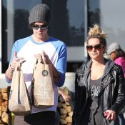 Ashley Tisdale : Corvée de courses avec son nouveau boyfriend Christopher French