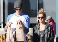 Ashley Tisdale : Corvée de courses avec son nouveau boyfriend Christopher French
