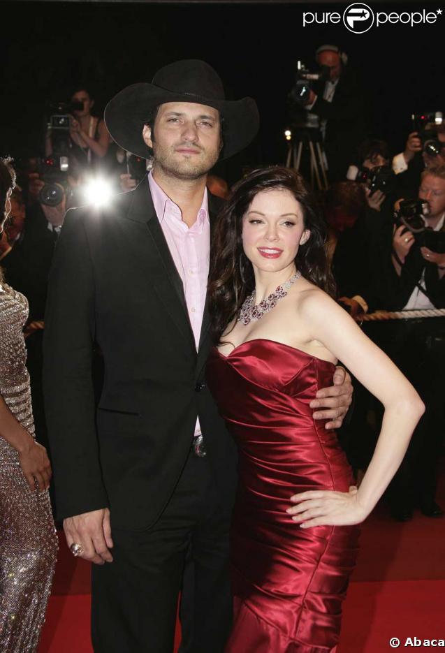 Rose McGowan couple