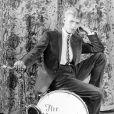 David Bowie avec son premier groupe The Kon-Rads à la fin des années 60 à Londres.