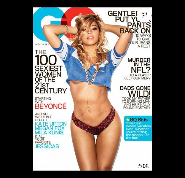 Beyoncé Knowles pose pour la couverture de GQ. Janvier 2013.