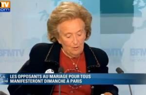 72 personnalités disent oui au mariage pour tous, Bernadette Chirac dit non