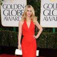 Claire Danes à la 70e cérémonie des Golden Globes à Los Angeles le 13 janvier 2013. La jolie blonde qui a accouché le 17 décembre dernier a affiché une taille de guêpe.