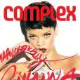 Rihanna photographiée par Zoe McConnell pour le numéro de février-mars 2013 du magazine  Complex.