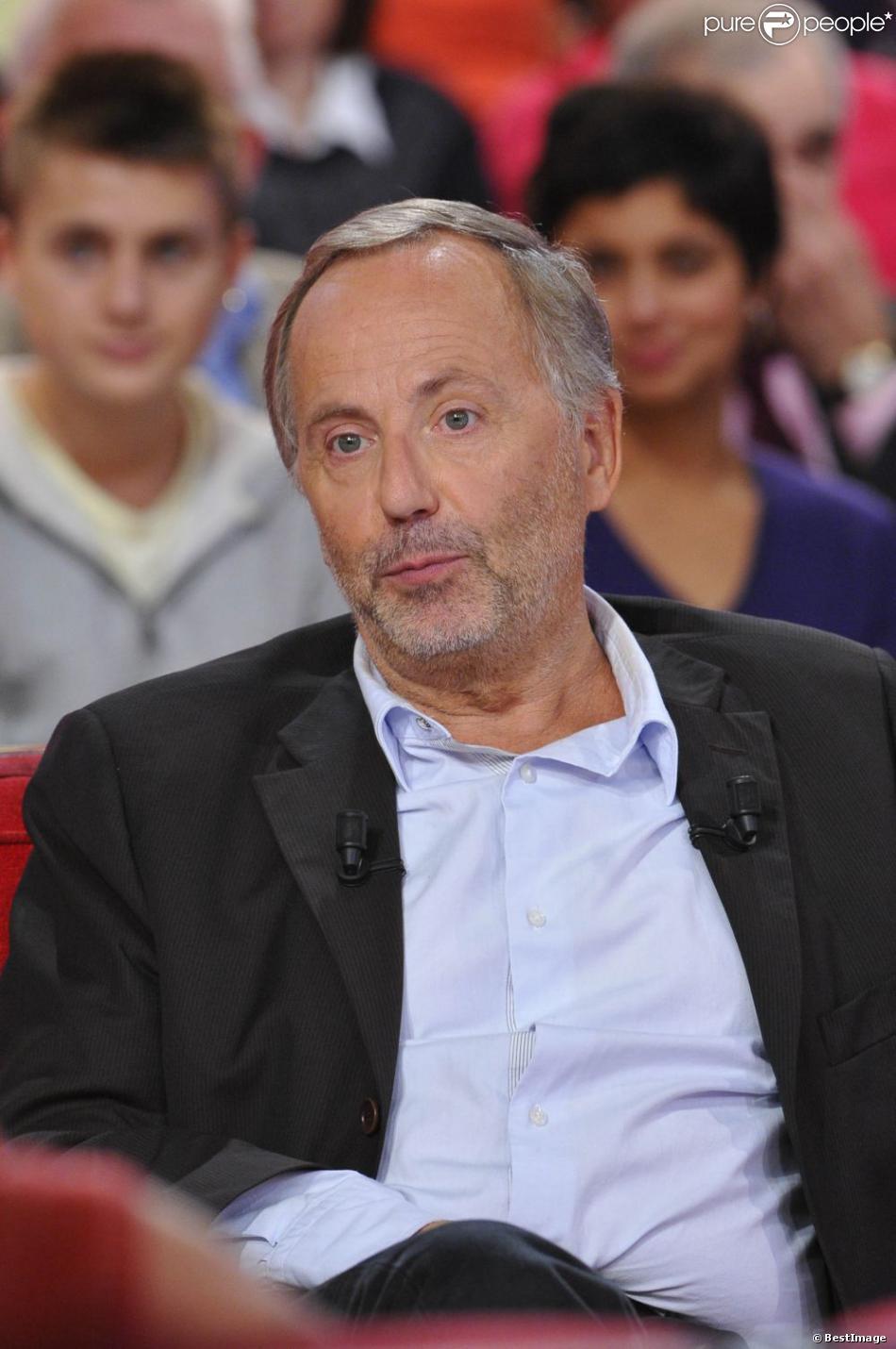 Fabrice Luchini lors de l'émission  Vivement dimanche  le 3 octobre 2012