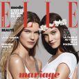 Couverture du magazine ELLE qui s'engage pour le mariage pour tous, le 18 janvier 2013.