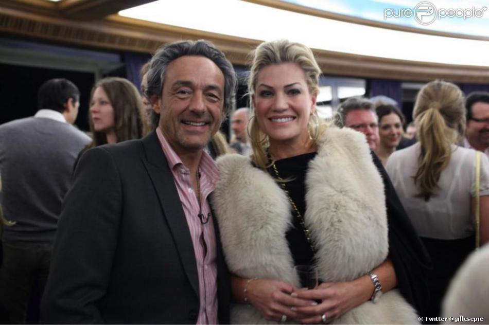 Gilles Epié et sa femme Elizabeth Epié. Le couple s'est rencontré alors qu'elle était en couple avec Richard Gere.