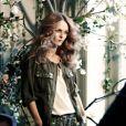 Vanessa Paradis en mode top dans les coulisses de la campagne Conscious de H&M