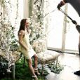 Vanessa Paradis prend la pose dans les coulisses de la campagne Conscious de H&M