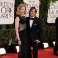 Nicole Kidman et Keith Urban lors des Golden Globes le 13 janvier 2013