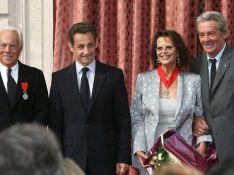 PHOTOS : Claudia Cardinale et Giorgio Armani décorés par Nicolas Sarkozy devant les people !