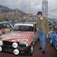 Pierre Casiraghi prenait le 27 janvier 2013 le départ du 16e Rallye Monte-Carlo historique, avec son ami d'enfance Jean-Thierry Besins pour copilote, à Monaco