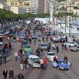 Pierre Casiraghi et son copilote Jean-Thierry Besins, un ami d'enfance, prenaient le 27 janvier 2013 le départ à Monaco du Rallye Monte-Carlo historique au volant d'une Alpine R5, à Monaco, en présence du prince Albert et de Beatrice Borromeo.