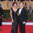 Matthew Morrison et Renee Puente lors des Screen Actors Guild Awards à Los Angeles le 27 janvier 2013