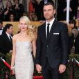 Naomi Watts et Liev Schreiber lors des Screen Actors Guild Awards à Los Angeles le 27 janvier 2013