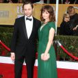 Alexis Bledel et Vincent Kartheiser lors des Screen Actors Guild Awards à Los Angeles le 27 janvier 2013
