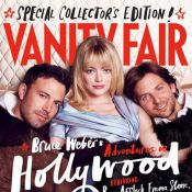 Emma Stone, sensuelle et bien entourée par Ben Affleck et Bradley Cooper
