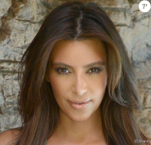 Exclusif - Kim Kardashian en bikini à Miami, le 14 décembre 2012.