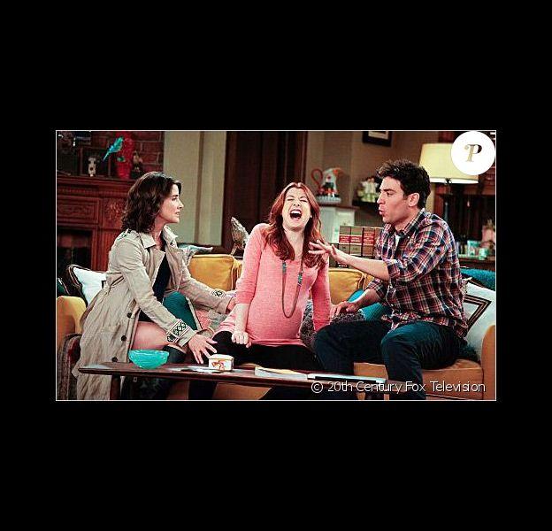 Alyson Hannigan dans la saison 7 de How I Met Your Mother, 2011-2012.