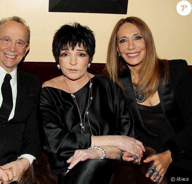"""Michael York, Joel Grey, Liza Minnelli et Marisa Berenson assistent à la projection de """"Cabaret"""" pour le quarantième anniversaire du film de Bob Fosse, à New York, le 31 janvier 2013."""