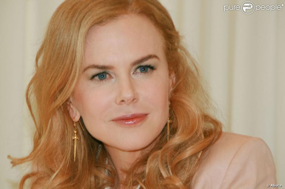 Nicole Kidman le 26 janvier 2013 pour la promotion du film Stoker