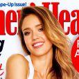 Jessica Alba figure en Une du magazine Women's Health de mars 2013.