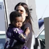 Sandra Bullock : Son fils Louis, craquant supporter pour le Super Bowl