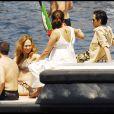 Jennifer Lopez et Marc Anthony  vivent la Dolce Vita en Italie