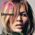 Kate Moss photographiée par Craig McDean en couverture du magazine i-D. 2001.