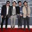 Mumford & Sons (album de l'année) à la 55e cérémonie des Grammy Awards à Los Angeles le 10 février 2013.