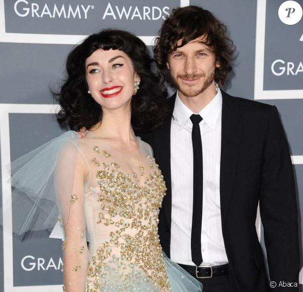 Gotye et Kimbra à la 55e cérémonie des Grammy Awards à Los Angeles le 10 février 2013.