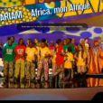 Amadou et Mariam remportent le premier trophée de cette cérémonie des Victoires de la Musique, sur France 2 le 8 février 2013.