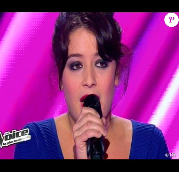 Nell dans The Voice, saison 2, samedi 9 février 2013 sur TF1