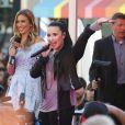 """Demi Lovato - Ouverture du magasin """"Topshop"""" a The Grove a Los Angeles. Le 14 février 2013 Los Angeles, le 14 février 2013."""