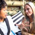 Reeva Steenkamp pour le lancement de Tropika island of treasure 5