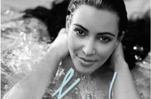 Kim Kardashian enceinte : Sensuelle, elle expose déjà sa grossesse en maillot
