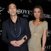Adrien Brody et sa chérie Lara Lieto, radieux au côté da la bombe Ali Larter