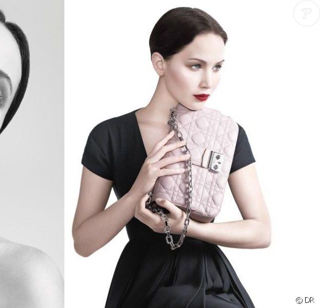 Jennifer Lawrence dans la campagne printemps-été 2013 Miss Dior